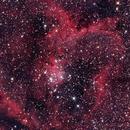 IC 1805 The Heart Nebula in Cassiopeia,                                astrobillbinMontana