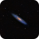 GALAXY IN THE SCULPTOR NGC 253 FROM HUANCAYO-PERÚ,                                José Santivañez M...