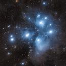 M45 - The Pleiades,                                Dale Hollenbaugh