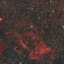 SH2-157 & NGC7510 & NGC7635 & NGC7538 & IC1470 / Canon 600D + Canon 400mm L f/5.6 / SW EQM-35,                                patrick cartou