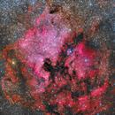 NGC7000 Ha+RGB,                                Jose Mtanous