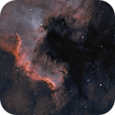 The Wall- NGC 7000 Crop,                                Thomas Klemmer