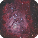 M8 The Lagoon Nebula,                                Michael Broyles
