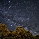 Vega, Altair and Milky Way,                                Evan Tsai