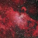 Sharpless 49 Eagle Nebula,                                Dean Salman