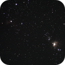 Orion and Flame Nebula with Hasselblad Lens,                                David Quattlebaum