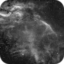 Part of LBN 278 Work in progress , first panel  with propeller nebula,                                angelo mazzotti