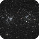 The Double Cluster,                                FiZzZ
