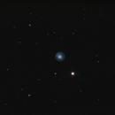 Eskimo Nebula - New mak 180 test - bad seing,                                Mathieu Pontécaille
