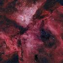 Eta Carina Nebula (Martin Pugh's dataset),                                Arun H.