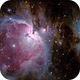 Orion Nebel mit Running Man,                                Michi Scheidegger