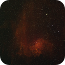 IC 405  - the Flaming Star Nebula - HSO,                                Sigga