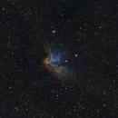 NGC 7380 Wizard Nebula HaRGB+SHO,                                Bradley Hargrave