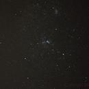 Carina Nebula, Wishing Well Cluster, Southern Pleades-EVW-DSLR-55 mm linse- cropping ,                                Adel Kildeev
