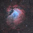 Sharpless 112: Sh2-112 emission nebula in SHO,                                Uros Gorjanc