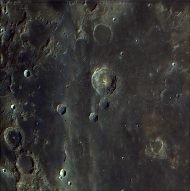 Bullialdus Crater,                                Odair Pimentel Ma...