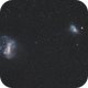 Large and Small Magellanic Clouds (DSS v2),                                Martin Junius