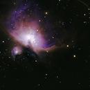 M42 Orion Nebula,                                Andrew Burwell