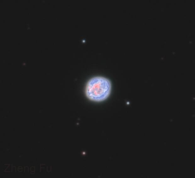 NGC 6818 Little Gem Nebula - HOO,                                Zheng Fu
