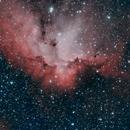 NGC 7380 Wizard Nebula - SHO,                                Richard H