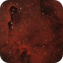 IC_1396A [Cep] - The Elephant Trunk Nebula in H-HO-O,                                G400