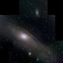 Andromeda Galaxy Mosaic,                                Tankcdrtim