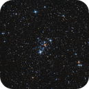 Open cluster M103 in Cassiopeia,                                Jason Tackett