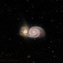 M51 Whirlpool Galaxy,                                JMDean