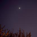 Venus et les Pléiades,                                Emmanuel Wenger