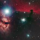 B33 Horsehead Nebula and NGC2024 Flame Nebula,                                George Pappayliou
