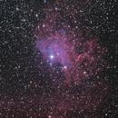 IC405 - Flaming Star Nebula,                                seigell