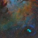 NGC6165 - a focus on the dragon's egg,                                Ben