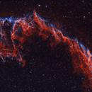 Eastern Veil Nebula - NGC6995/6992,                                DeepSkyView