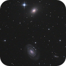 NGC 5364 and NGC 5363 (with part of Abell 1809),                                CCDMike