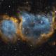 IC 1848 - Soul Nebula,                                Kevin Fordham