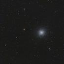 M13 Globular Cluster in RGB,                                Mike Oates