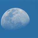 Waxing Moon during daylight,                                Jairo Amaral