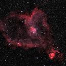 IC 1805 - Heart Nebula,                                gmartin02
