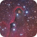 IC 1396 The trunk of the Elephant Trunk Nebula,                                bawind Lin