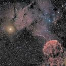 IC443 & SH2-249 - Medusa Nebula area -HaRGB,                                Pascal Gouraud