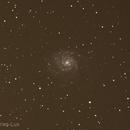 M101 Galaxy,                                Aries-Lux
