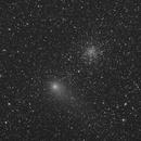 Comet C/2009 P1 (Garrad) next to M71,                                Pawel Turek