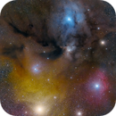 Rho Ophiuchi and Antares Area,                                Toshiya Arai