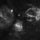 6 Pane Mosaic around the Bubble Nebula,                                Trevor Nicholls