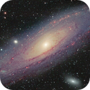 Messier 31, The Andromeda galaxy,                                Roy Hagen