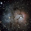 M20 Trifid Nebulae,                                Darktytanus