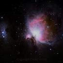 M42, M43, NGC1977,                                Dave Venne