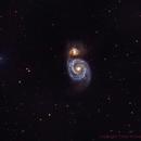 M51 Whirlpool Galaxy,                                Chad Andrist