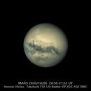 MARS -ROTATION- 2020/10/06  20:50-21:52 UT,                                Antonio Vilchez