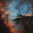 Pacman nebula,                                sky-watcher (johny)